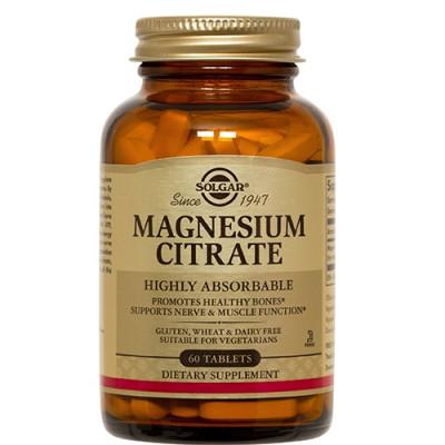 Solgar Magnesium Citrat (60 tabletter)