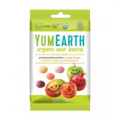 Yum Earth Sour Beans Syrligt Slik Ø