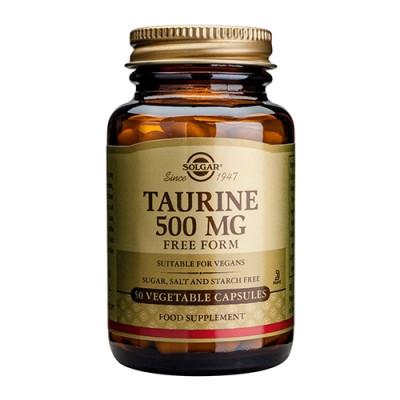 Taurine 500 mg (50 vegicaps)