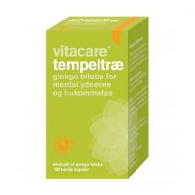 VitaCare Tempeltræ - Ginkgo Biloba (120 kaps.)