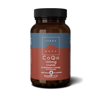 Terranova CoQ10 100 mg Complex (50 kap)