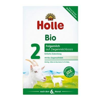 Holle Tilskudsblanding Gedemælk Basis 2 Ø - fra 6 mdr. (400g)