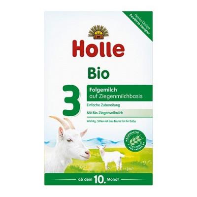 Holle Tilskudsblanding Gedemælk Basis 3 Ø - fra 10 mdr. (400g)