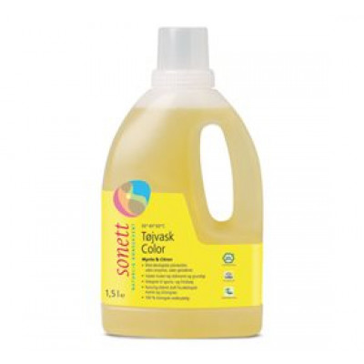 Sonett Tøjvask Color Mynte&Citron (1500 ml)