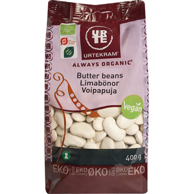 Urtekram Butter Beans Ø 400 g
