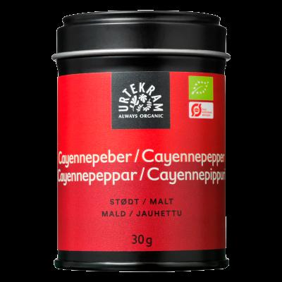Urtekram Cayennepeber Ø (30 gr)