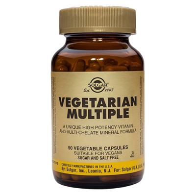 Solgar Vegetabilsk Multivitamin (90 vegicaps)