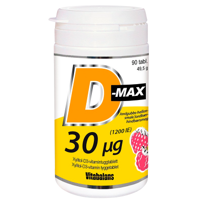 Vitabalans D-Max 30 µg (90 tab)