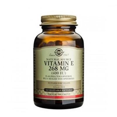 Solgar Vitamin E 268mg (50 kaps)