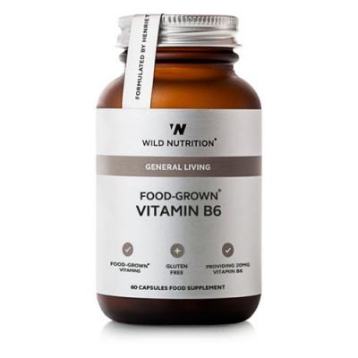 Wild Nutrition Food-Grown Vitamin B6 (60 kaps)