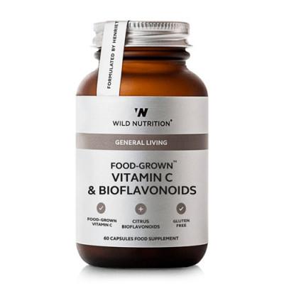 Wild Nutrition Food-Grown Vitamin C & Bioflavonoids (60 kaps)