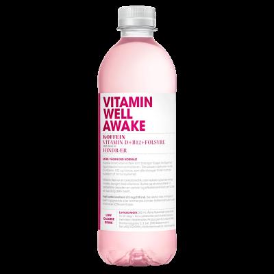 Vitamin Well Awake - Hindbær