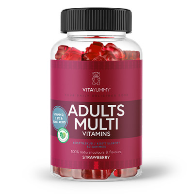 VitaYummy Gummies Multivitamin Adult (60 stk.)