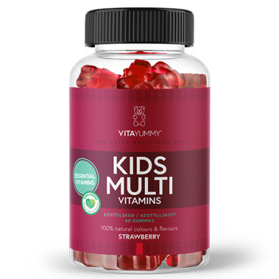 VitaYummy Gummies Multivitamin Kids (60 stk.)