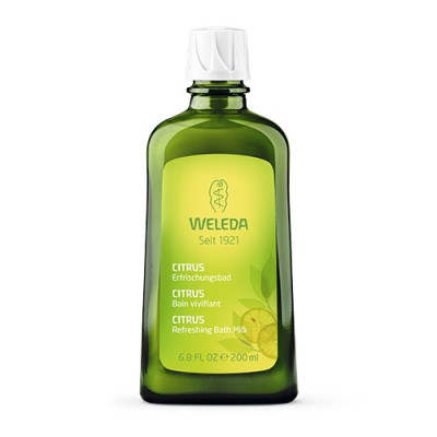 Weleda Citrus Refreshing Bath Milk (200 ml)