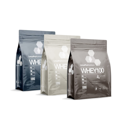 LinusPro WHEY100 - Flere smagsvarianter (1 kg)