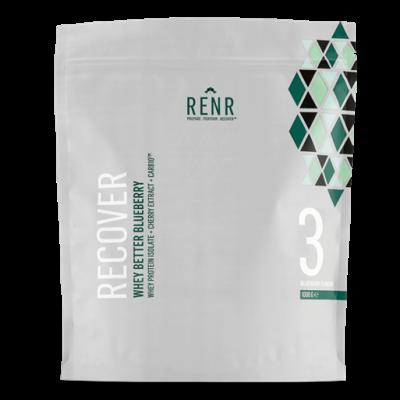 RENR Whey Better blåbær proteinpulver (1 kg)
