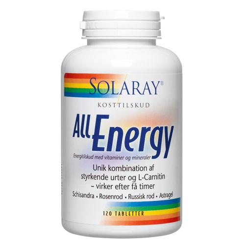 få mere energi piller