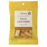 Clearspring Rice Cracker Olivenolie og Salt Ø (50 gr)