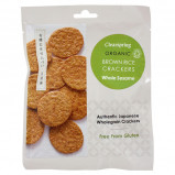 Clearspring Rice Cracker Sesame Ø (40 gr)