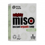 Clearspring Instant Miso suppe Tofu og Ingefær Ø 60 gr.