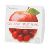 Clearspring Organic Frugtpuré Æble & Tranebær Ø (200 gr)