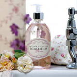 Savon Liquide De Marseille Håndsæbe Flydende Rose (500 ml)