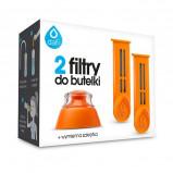 Dafi Refiller filterflaske Orange 2 stk refiller + mundstykke