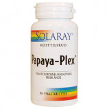 Solaray Papaya Plex (90 tyggetabletter)