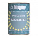 Biogan Kikærter på dåse Ø (400 gr)