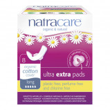 Natracare Ultra Extra Bind Long (8 stk)