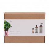 Naturfarm Gaveæske Ansigt- og Kropsolie + Bodylotion og Shampoo (1 stk)