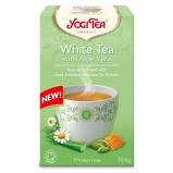 Yogi Te White Tea m. Aloe Vera Ø