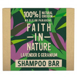 Faith In Nature Shampoobar Lavendel & Geranium (1 stk)