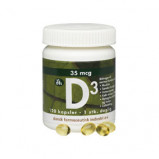DFI D-vitamin 35 mcg (120 kapsler)