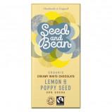 Seed & Bean Hvid Chokolade med Lemon & Birkes Ø (85 gr)