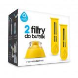 Dafi Refiller Filterflaske Gul + mundstykke