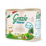 Grazie Natural Toiletpapir (4 ruller)