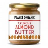 Planet Organic Mandelsmør Crunchy Ø (425 g)