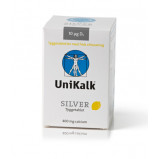 UniKalk Silver med Ekstra D-vitamin (90 tyggetabletter)