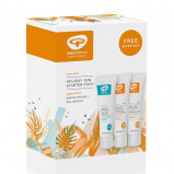Holiday sun starter pack solcreme SPF15 + SPF30, afters