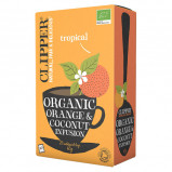 Clipper Orange and Coconut Te Ø (20 breve)