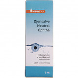 Øjensalve Neutral Ophtha 200 mg (5 ml)