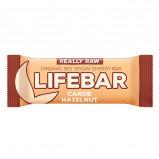 Really Raw LifeBar Carob Hasselnød RAW Ø (47 g)