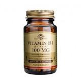 Solgar B1-vitamin 100 mg (Thiamin) (100 kaps)