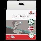 BabyDan Safety Plug Til Stikkontakt (6 stk.)