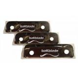 BaKblade Rygskraber - Barberblade (3 stk)