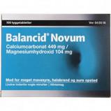Balancid Novum Tyggetabletter 449+104 mg (100 stk)