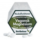 Berthelsen Vegansk Magnesium 250 (240 tab)
