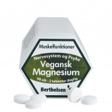 Berthelsen Vegansk Magnesium 250mg (90 tab)